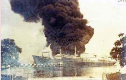 The Pemex -Fire at the Docks