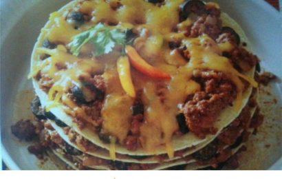 Stacked Tortilla Pie