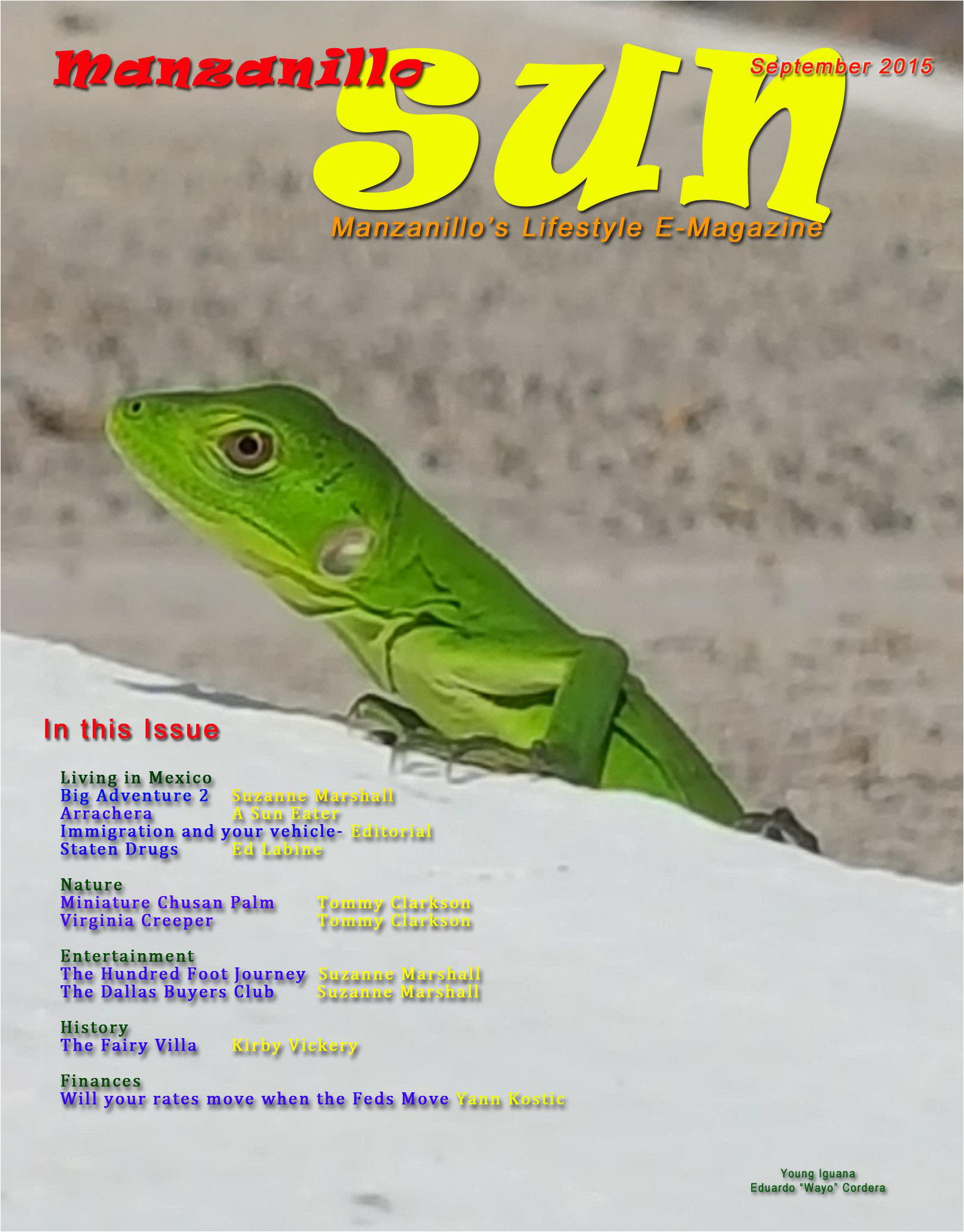 Manzanillo Sun Online September 2015