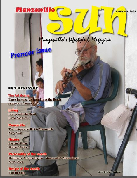 Manzanillo Sun November 2009 cover