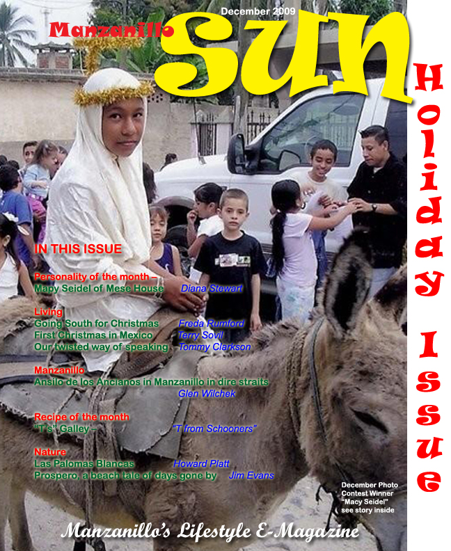 Manzanillo Sun December 2009 cover