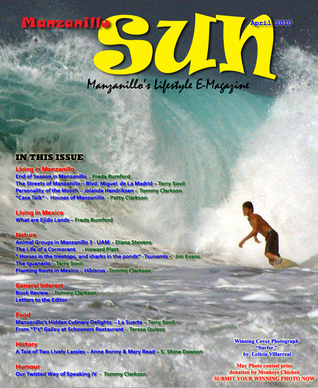 Manzanillo Sun April 2010 cover