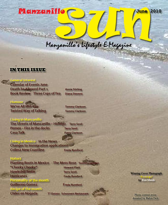 Manzanillo Sun June 2010 cover
