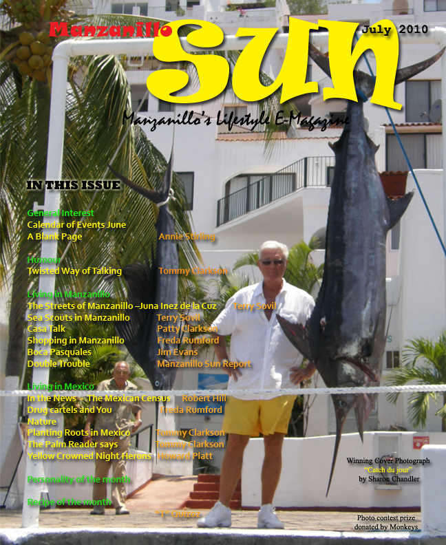 Manzanillo Sun July 2010 cover