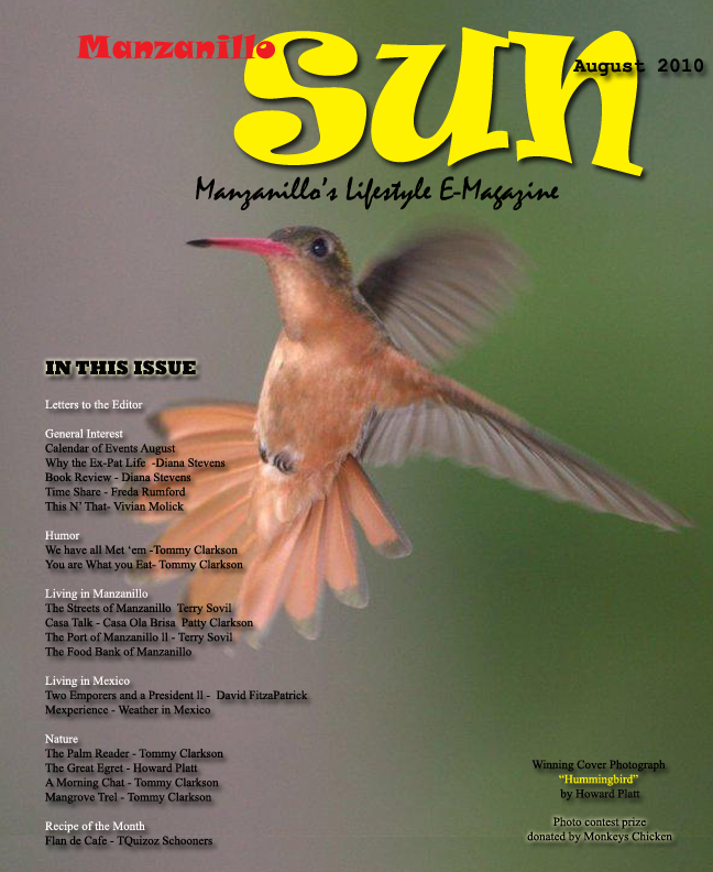 Manzanillo Sun August 2010 cover