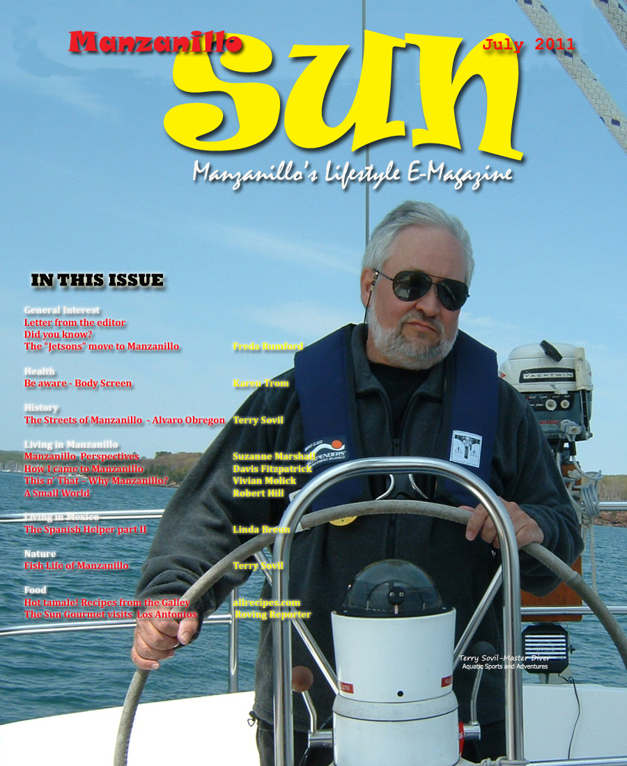 Manzanillo Sun July 2011 cover