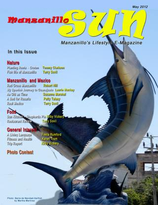 Manzanillo Sun May 2012 cover