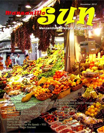 Manzanillo Sun November 2012 cover