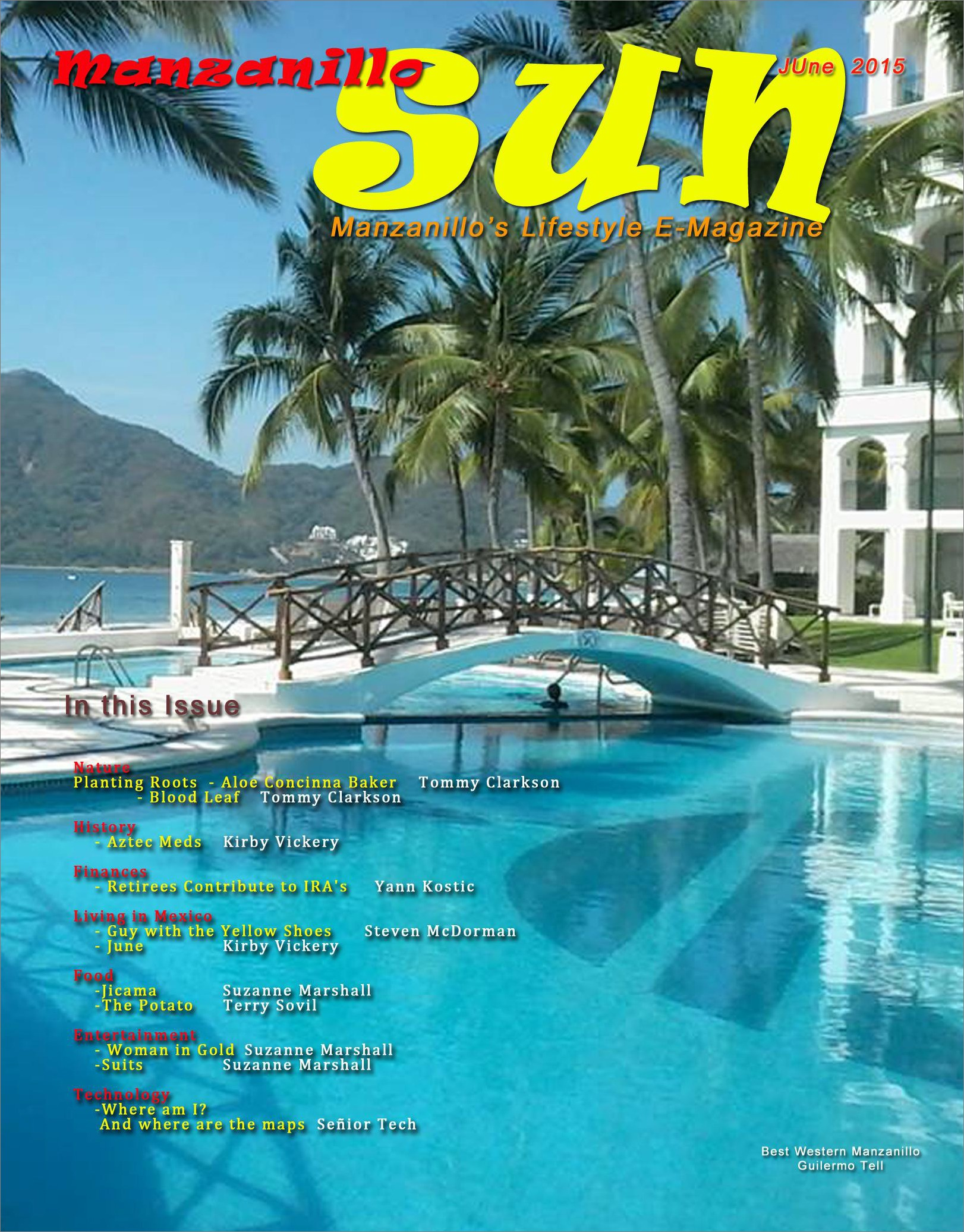 Manzanillo Sun June 2015 cover