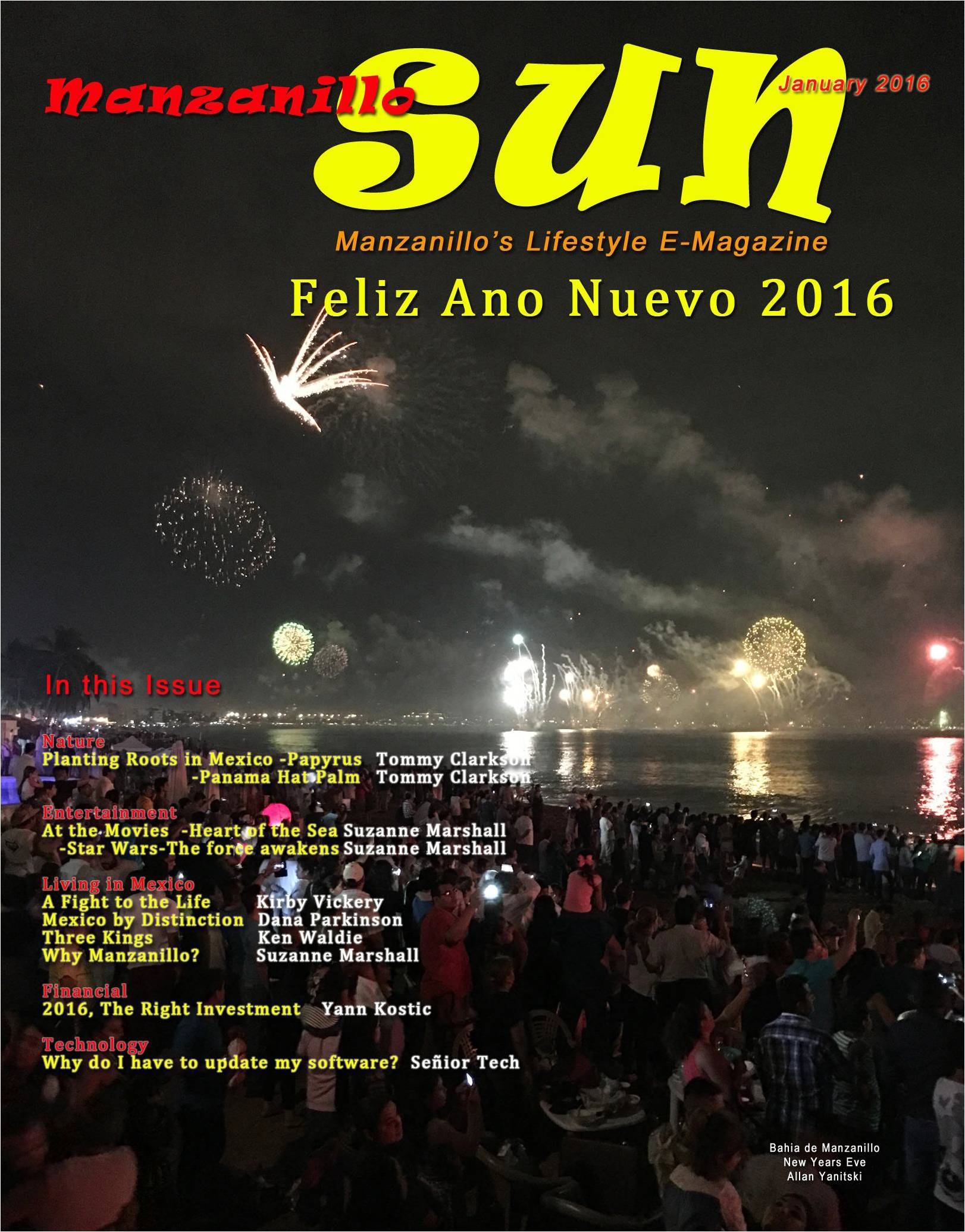Manzanillo Sun January 2016