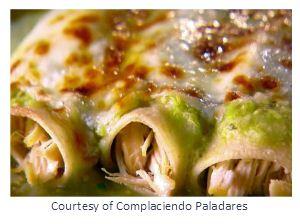 Delicious Enchiladas Suizas
