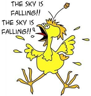 "The Sky is Falling"" Chicken Little – Manzanillo Sun"