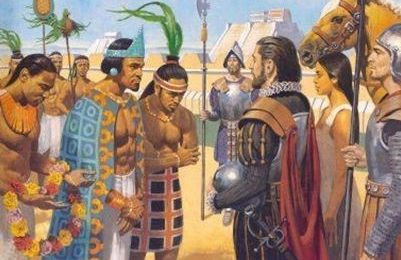 The Conquest of the Aztecs (1521)