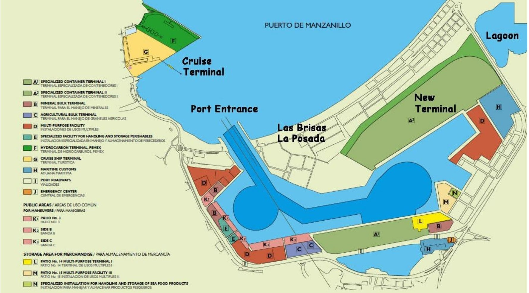 Port Of Manzanillo In 2018 Manzanillo Sun