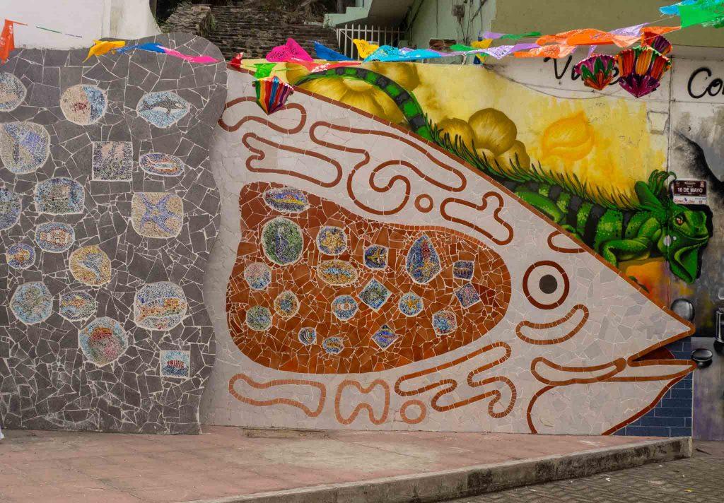 Manzanillo Sun e-Magazine, Murals, El Centro, Manzanillo 2020