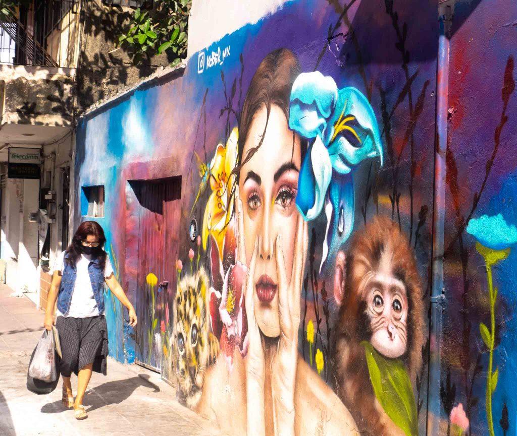 Manzanillo Sun eMagazine, Murales, El Centro, Manzanillo, 2020