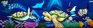 Turtle mural - Manzanillo Sun eMagazine